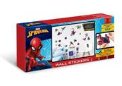 PROMO Naklejki ścienne zestaw Spider-Man 44746 34x46cm p12 Walltastic