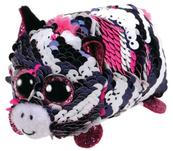 TY Teeny Tys Flippables ZOEY cekinowa różowa zebra 42404