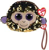 TY Fashion Sequins - cekinowa saszetka na rękę WADDLES- małpka 95222 TY