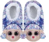 TY Fashion Sequins RAINBOW cekinowe pantofle pudel roz: L (36-38) 95565
