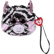 TY Fashion Sequins cekinowa torba na nadgarstek ZOEY - zebra 95230 TY