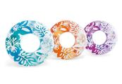 Koło do pływania w hawajskie kwiaty 3 kolory 91cm w worku 59251NP INTEX, cena za 1szt.
