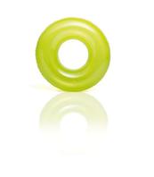 Koło do pływania transparentne 3 kolory 76cm w worku 59260NP INTEX