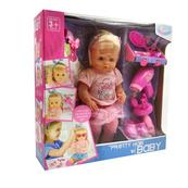 Lalka dziewczynka z akcesoriami do włosów w pudełku GAZELO