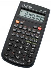 Kalkulator naukowy CITIZEN SR-135N 10 cyfr 154x84mm czarny, etui