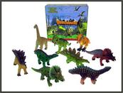 Dinozaur 20cm 6 wzorów mix p12 cena za 1 sztukę