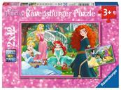 Puzzle 2x12el W świecie księżniczek 076208 RAVENSBURGER