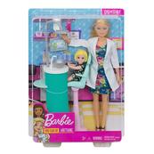 Barbie Lalka Dentystka zestaw FXP16 DHB63 MATTEL