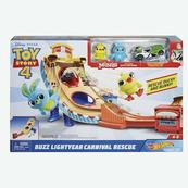 Hot Wheels Toy Story 4 Zestaw filmowy Wyrzutnia GCP24 p4 MATTEL