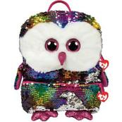 TY Fashion Sequins duży cekinowy plecak OWEN - sowa 95044 TY