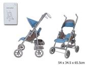 Wózek spacerówka dla lalek w pudełku GMT008 cena za 1 szt
