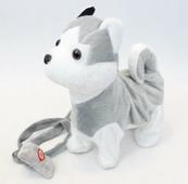 Pies na smyczy Husky 32cm NO-1002315