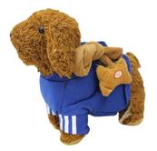 Pies na smyczy w dresie 32cm NO-1002313