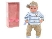 Lalka Bobas 45cm z dźwiękiem w pudełku 505995-506008