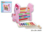 Zabawka edukacyjna drewniana Z5945 GAZELO