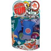 GOLIATH Naklejko-Stempelki Sticker Fun STREET Stempelek+160 naklejek blister 35503