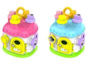 Sorter kształtów Domek z kluczami w pudełku mix cena za 1 szt