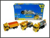 Ciężarówka budowlana 3 wzory 20cm p6 cena za 1 szt