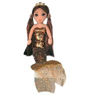 TY Mermaids GINGER -cekinowa brązowa syrenka 02104