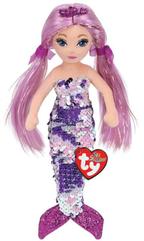 TY Mermaids ROLELEI - cekinowa fioletowa syrenka 02101