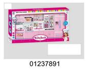 Mebelki kuchenne dla lalek na baterie 1237891