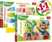 Duopack Trefliki Cyferki + puzzle 100el 90961 Trefl