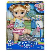 Baby Alive Step n Giggle dziewczynka (blondynka) E5247 HASBRO
