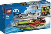 LEGO 60254 CITY Transporter łodzi wyścigowej p4
