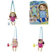 PROMO BABY ALIVE Lalka Littles z nosidełkiem E6646 HASBRO p4 cena za 1szt