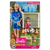 Barbie Trenerka piłki nożnej zestaw GLM47 p6 MATTEL
