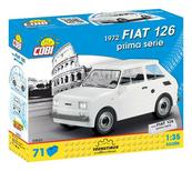 COBI 24523 Youngtimer FIAT 126 1972 prima serie 71 klocków
