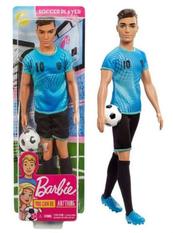 Barbie Lalka Ken Piłkarz FXP02 p6 MATTEL cena za 1 szt