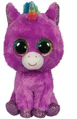 TY BEANIE BOOS ROSETTE - purpurowy Jednorożec 36464