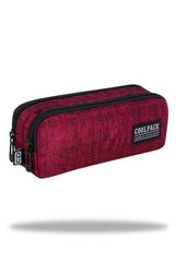 Piórnik saszetka podwójna prostokatna - Clio - Snow Red C69160 CoolPack