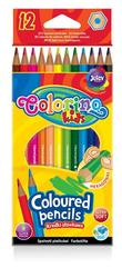 Kredki ołówkowe heksagonalne 12 kol. Colorino Kids