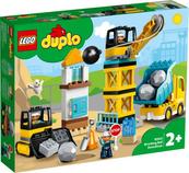 LEGO 10932 DUPLO Rozbiórka kulą wyburzeniową p3