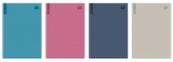 Brulion A4 96k kratka Mat+UV Office M 70g p5 INTERDRUK cena za 1szt
