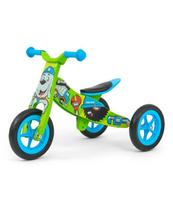 Rowerek 2w1 trójkołowy/biegowy Look Bob zielony 2773 Milly Mally