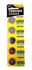 Bateria TOSHIBA CR2025 3V p5/blister cena za 1szt