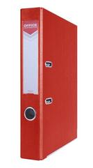 Segregator OFFICER z szyną PP A4 5,5cm czerwony Office Products