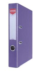 Segregator OFFICER z szyną PP A4 5,5cm fioletowy Office Products