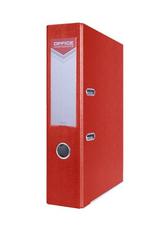 Segregator OFFICER z szyną PP A4 7,5cm czerwony Office Products