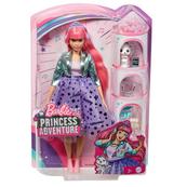 Barbie Lalka Przygody Księżniczek - Księżniczka Daisy GML77 MATTEL