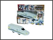 Pociąg-Robot transformer 18cm 2666C Cena za 1szt
