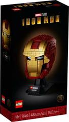 LEGO 76165 SUPER HEROES Hełm Iron Mana p4