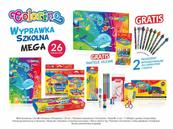 Wyprawka szkolna MEGA 26 elementów Colorino Kids 89205