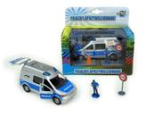 Auto Van Policja 14cm z figurkami i akcesoriami HKG056 cena za 1 szt