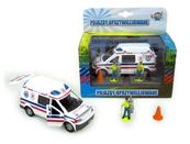 Auto Pogotowie 14cm z figurkami i akcesoriami HKG057 cena za 1 szt