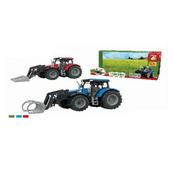 Traktor z łyżką, światło dźwięk p24 ASKATO w pudełku
