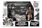 Zestaw wojskowy z motocyklem TOYS FOR BOYS 157202 ARTYK